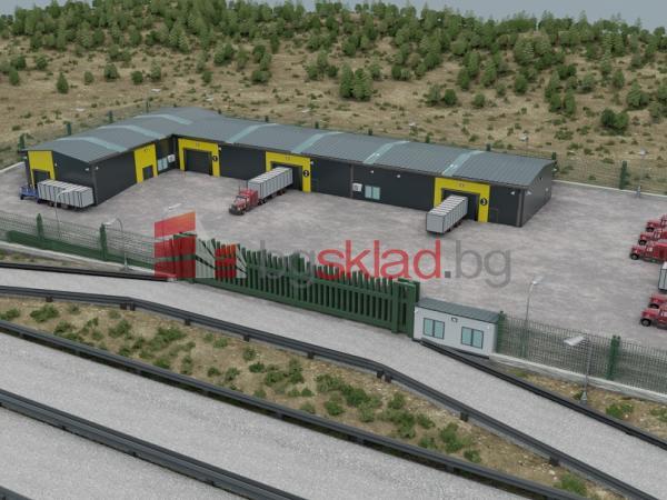 Предлага склад под наем 1500 кв.м. в гр. Русе, Източна промишлена зона