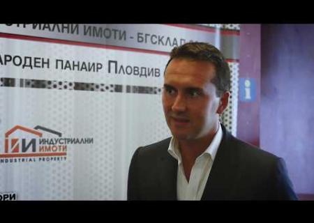 """Embedded thumbnail for Интервю със Стоян Балевски от """"Търговски център Европа"""""""